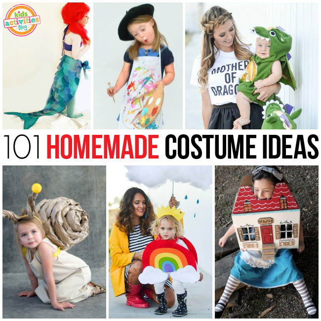 101 Homemade Costume Ideas