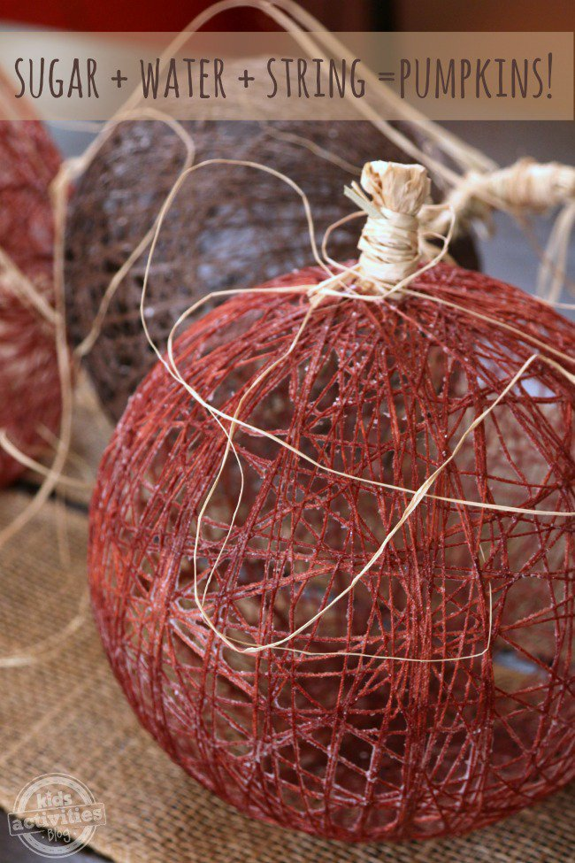 Imperial-Sugar-String-Pumpkins-to-make-with-kids-Kids-Activities-Blog