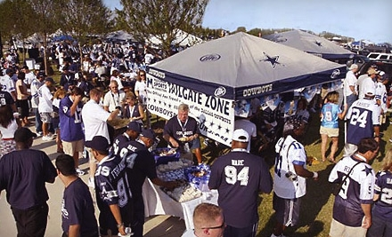 Cheer on Dallas Cowboys for Cheap at Tailgate Parties!