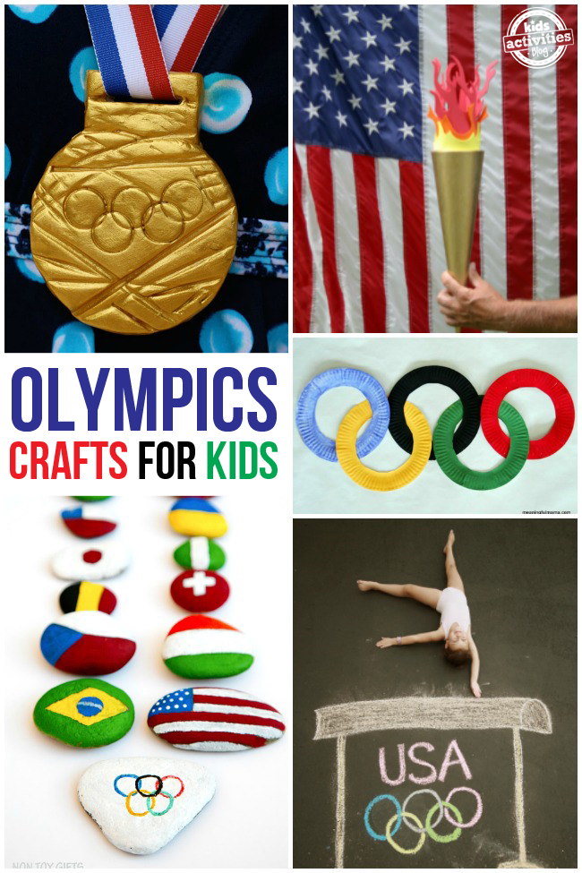 Fun Summer Olympics Crafts for Kids