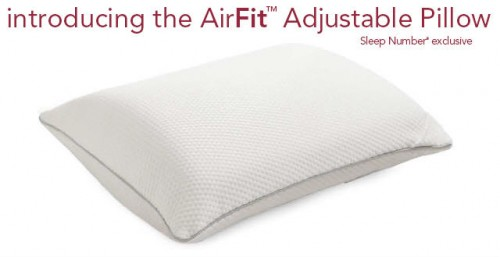 AirFit Adjustable Pillow {GIVEAWAY}