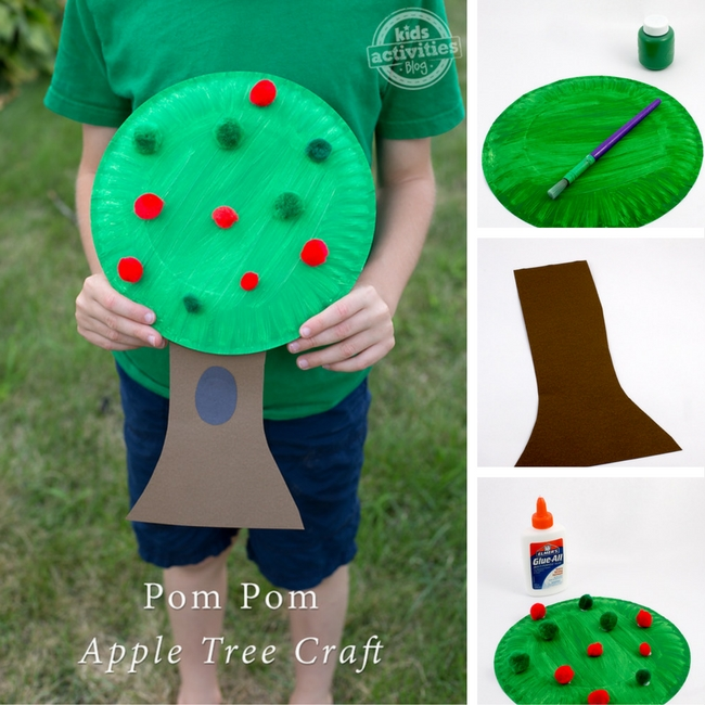 Pom Pom Apple Tree