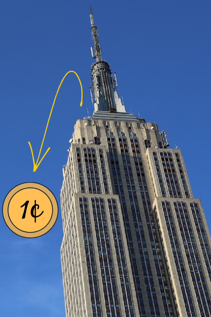What Really Happens If You Drop A Penny From The Top Of The Empire State Building? [Video]