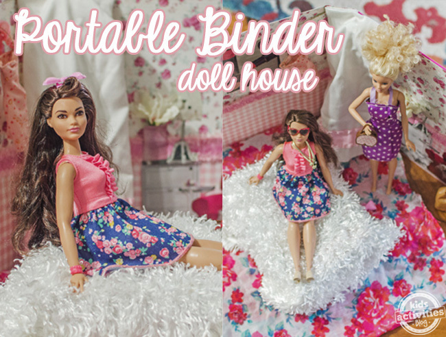 binder doll house 1