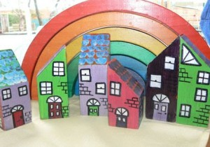 Make Your Own Building Block Town