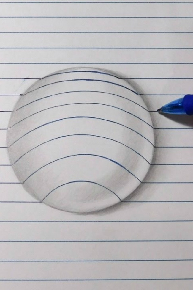 drawing a ball