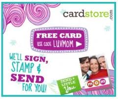 Cardstore.com ~ Free Mother's Day Card!