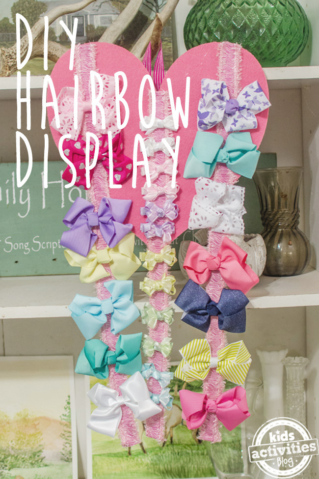 hairbow holder text