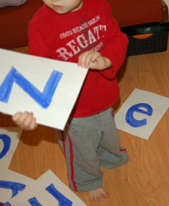 Scramble and Unscramble Letters: A learn to spell my name game