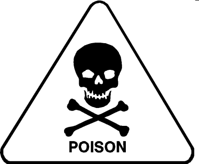 Are you packing poison for lunch?