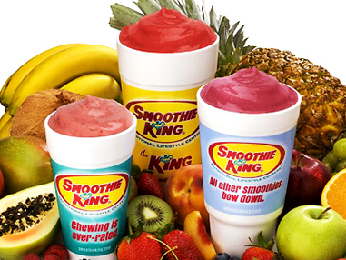 $24 Worth of Smoothies For Only $12 at Smoothie King!