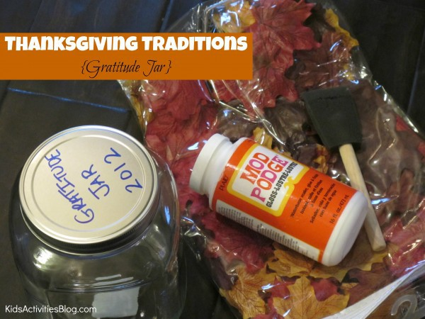 Be Thankful: A Thanksgiving Tradition {Gratitude}