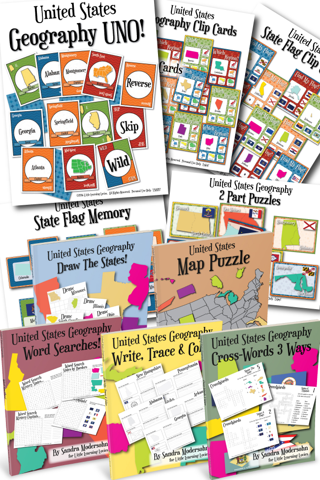US Geography – A Bundle Of Learning Fun!