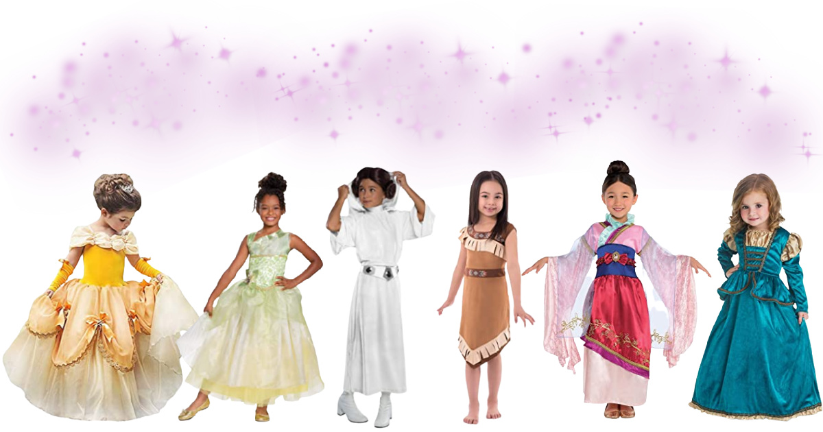 Disney Inspired Princess Halloween Costumes For Kids