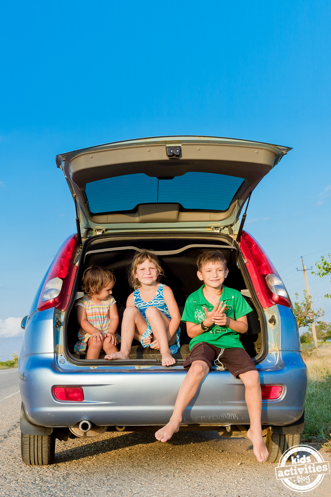 Screen-Free Ideas for Car Trips