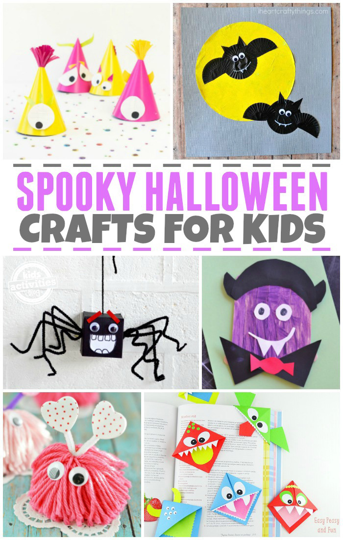 Spooky Halloween Crafts for Kids