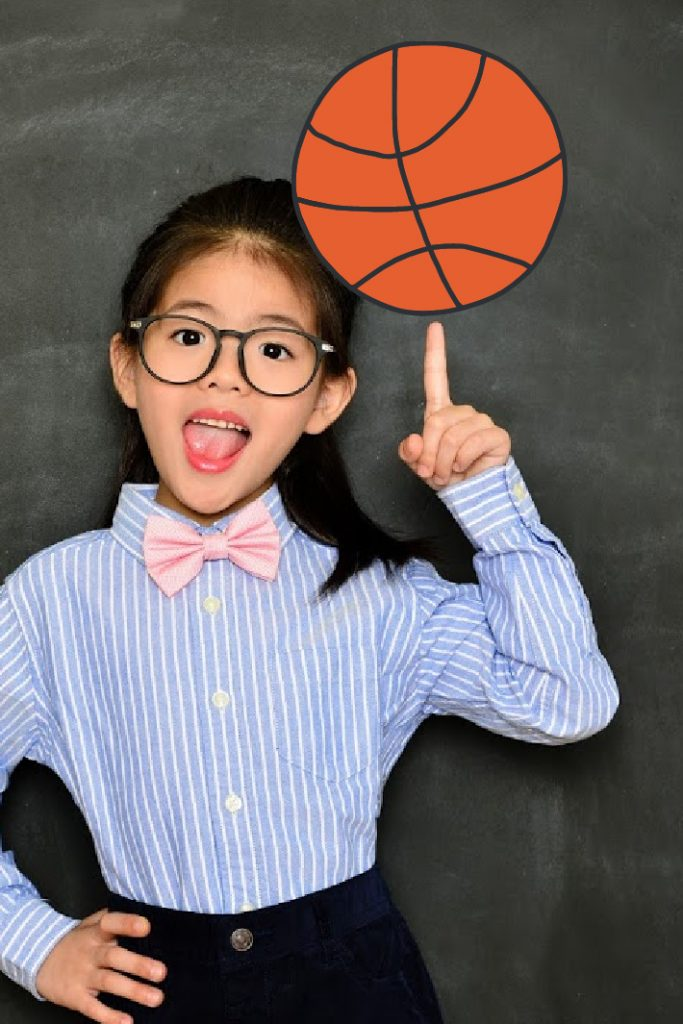 Video of girl schooling coach at basketball clinic - kids activities blog