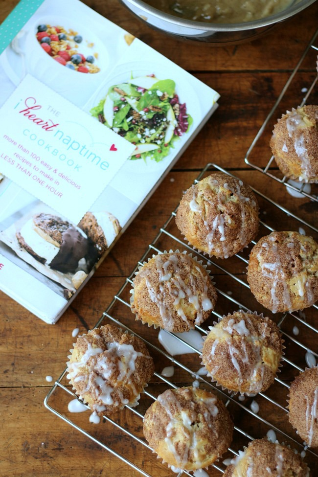 I Heart Naptime Apple Snickerdoodle Muffins