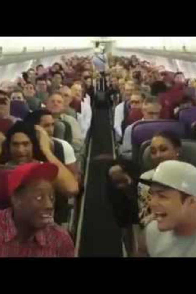 The Cast Of LION KING Sings During Their Flight…Because Sometimes The In-Flight Movie Just Isn't Enough