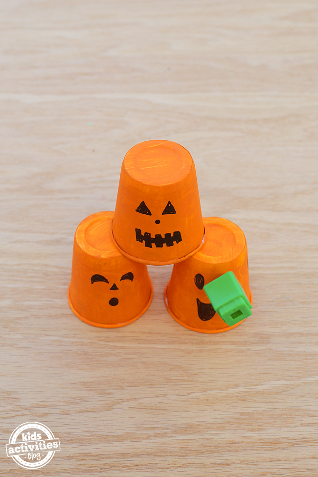 Pumpkin Toss Game