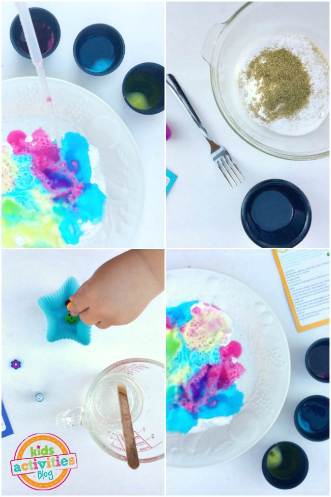 Simple Kitchen Science with Green Kid Crafts