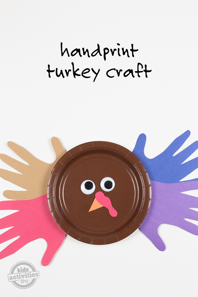 Handprint Turkey Craft