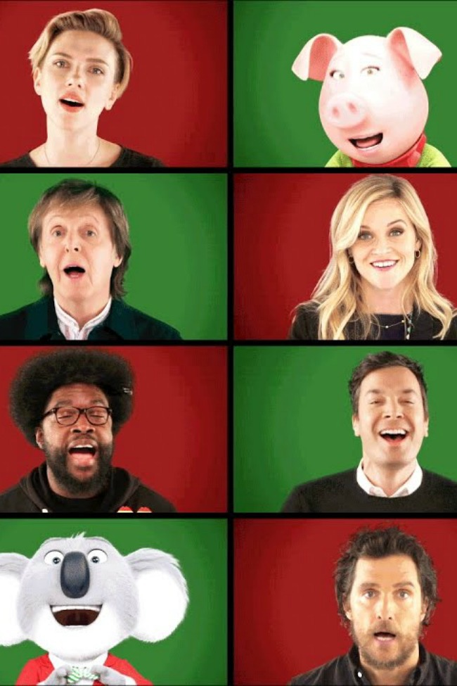 Jimmy Fallon Is Simply Having A Wonderful Christmastime!
