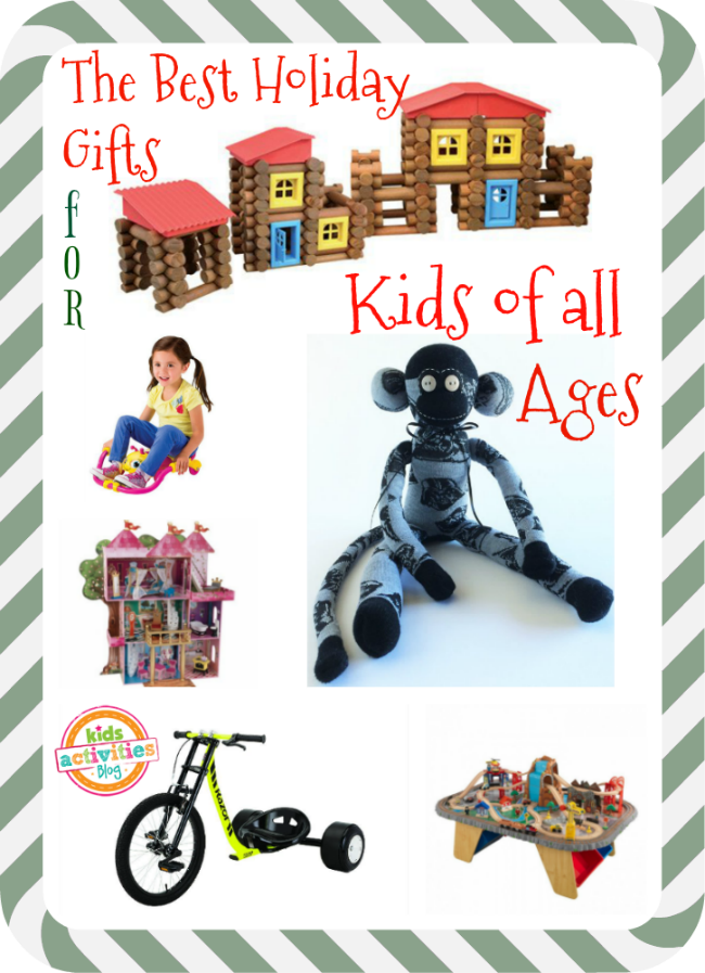 The Best Holiday Gifts for Kids of All Ages