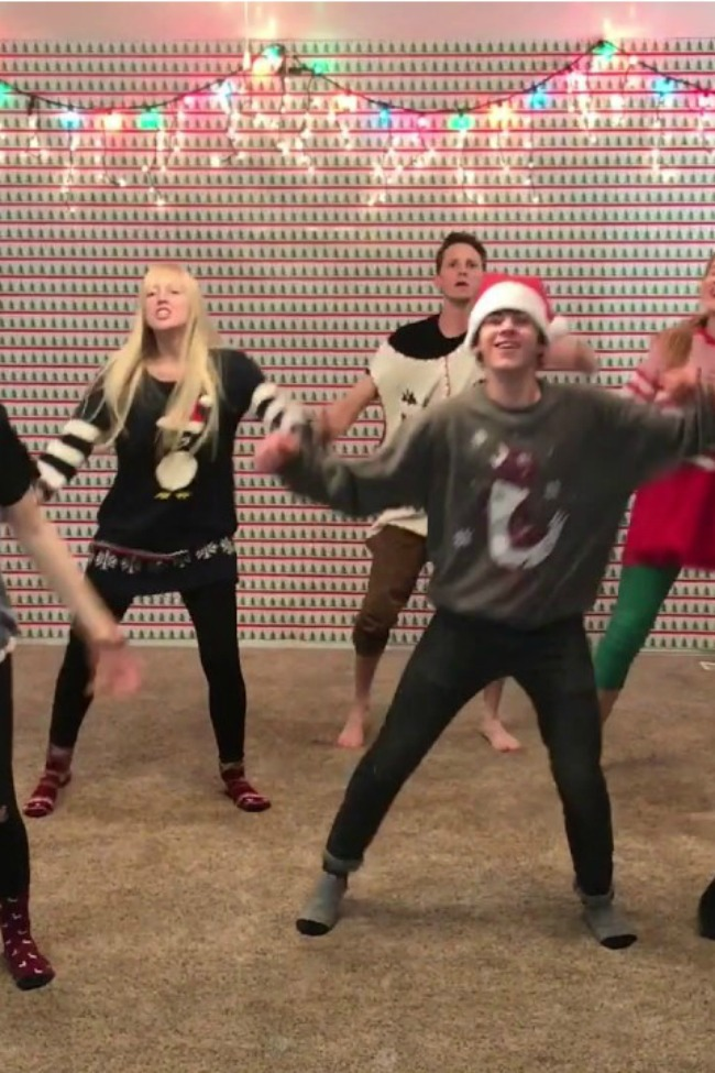 This Family's Christmas Dance Is What We All Dream Of