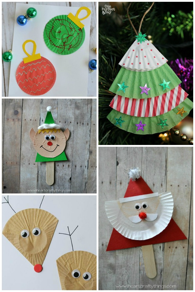 11 Cupcake Liner Crafts To Make For The Holidays