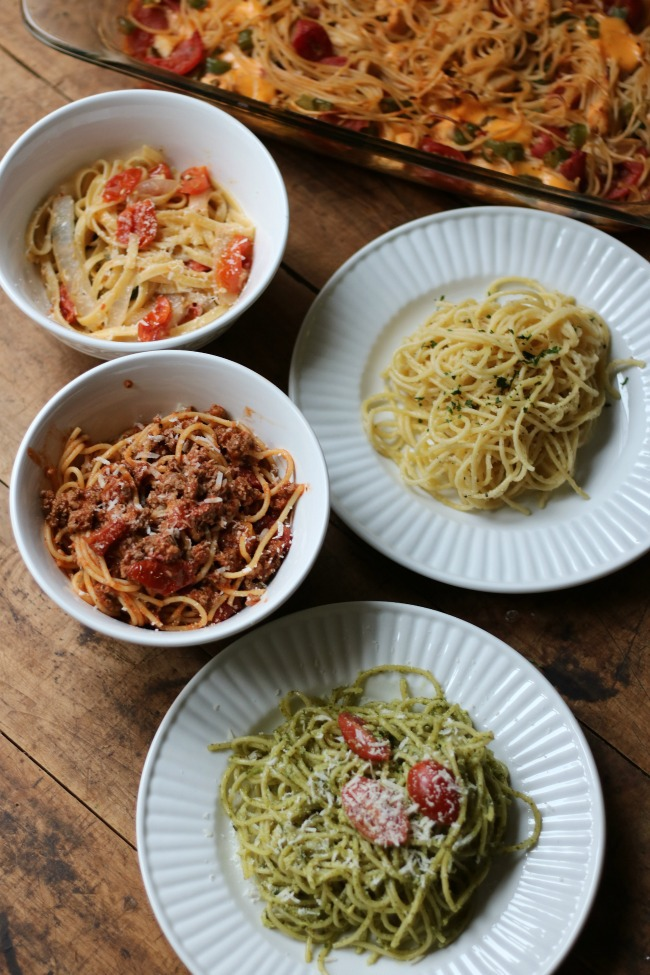 5 Simple Spaghetti Recipes your Family Will Love!
