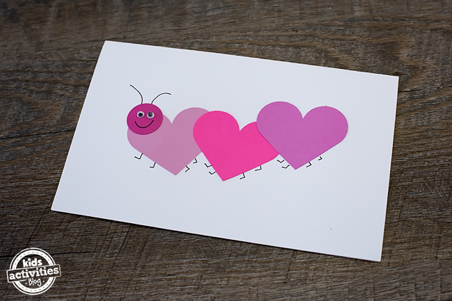Simple Love Bug Valentine