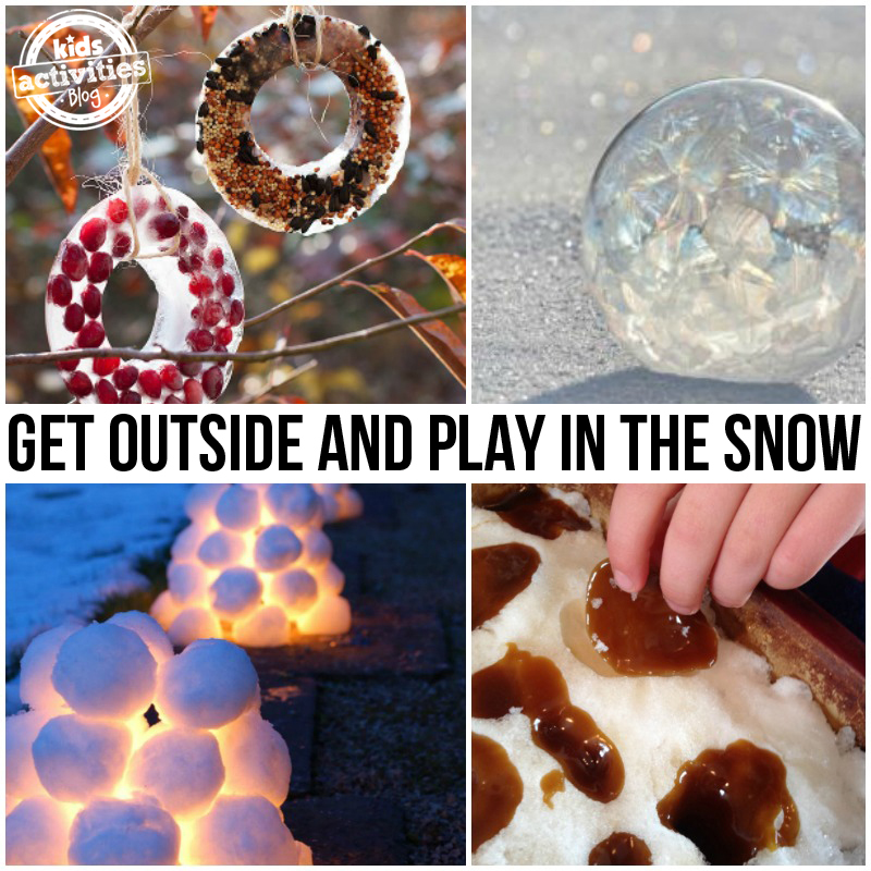Outdoor Activities in the Snow