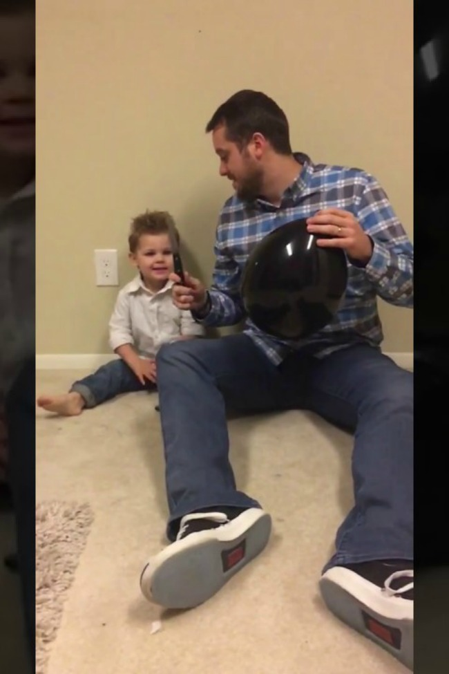 Boy Helps With Gender Reveal, Is Immediately Concerned About The Results