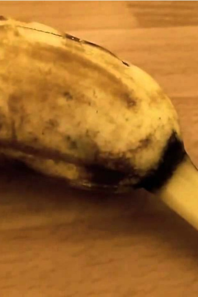 A Spider Burst Out Of This Banana, And Now I'm Ruined For Life