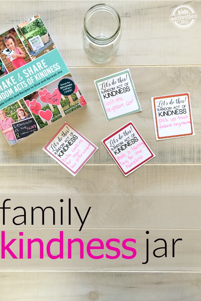 Family Kindness Jar