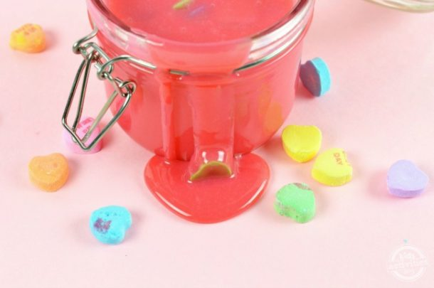 Edible Valentine's Day Slime
