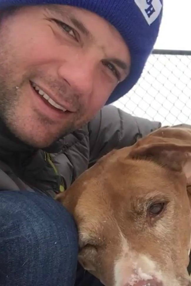 This Man Adopted A Senior Dog, And The Women Of The Internet Went Wild!