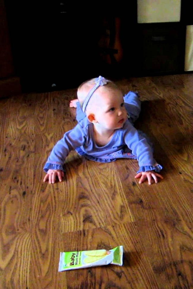 """Brother """"Helps Sister Crawl"""" To Treat, Sort Of…"""