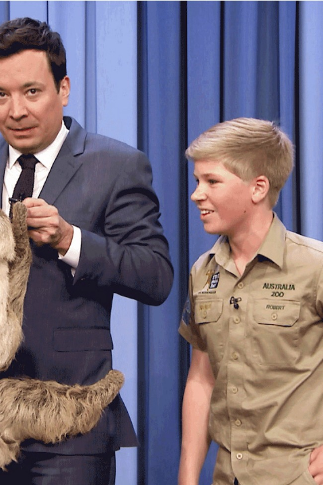 The Crocodile Hunter's Son Is EXACTLY Like His Dad!!