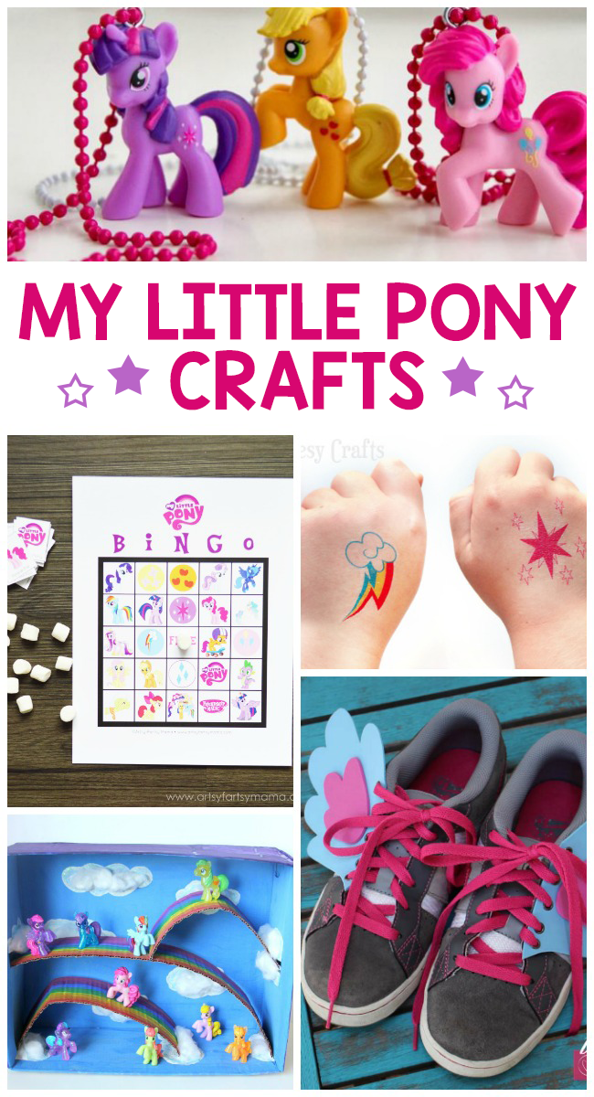 11 Adorable My Little Pony Crafts