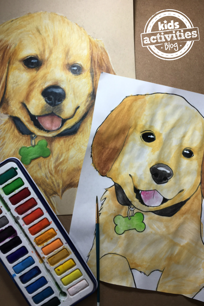 Free Adorable Puppy Coloring Pages For Kids And Adults