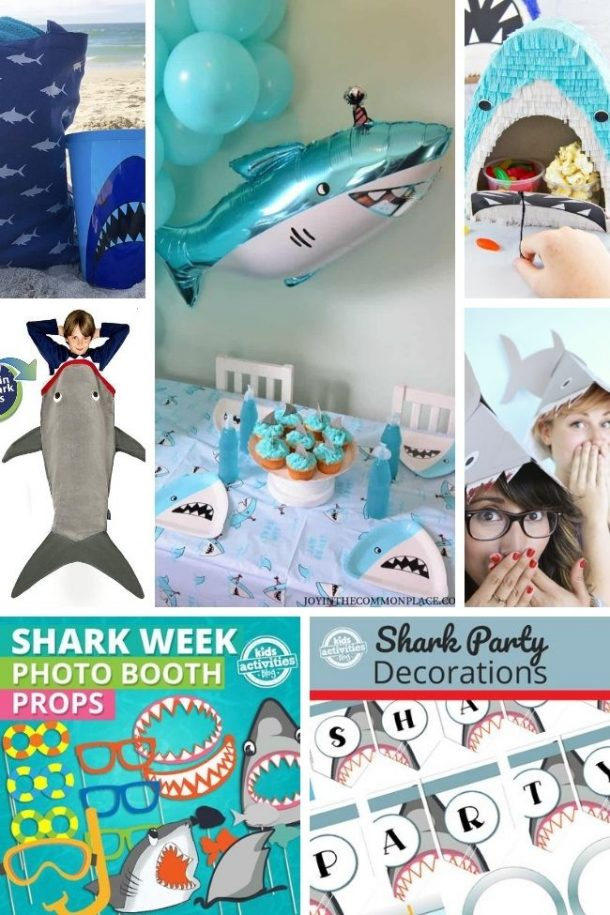 shark party ideas for kids