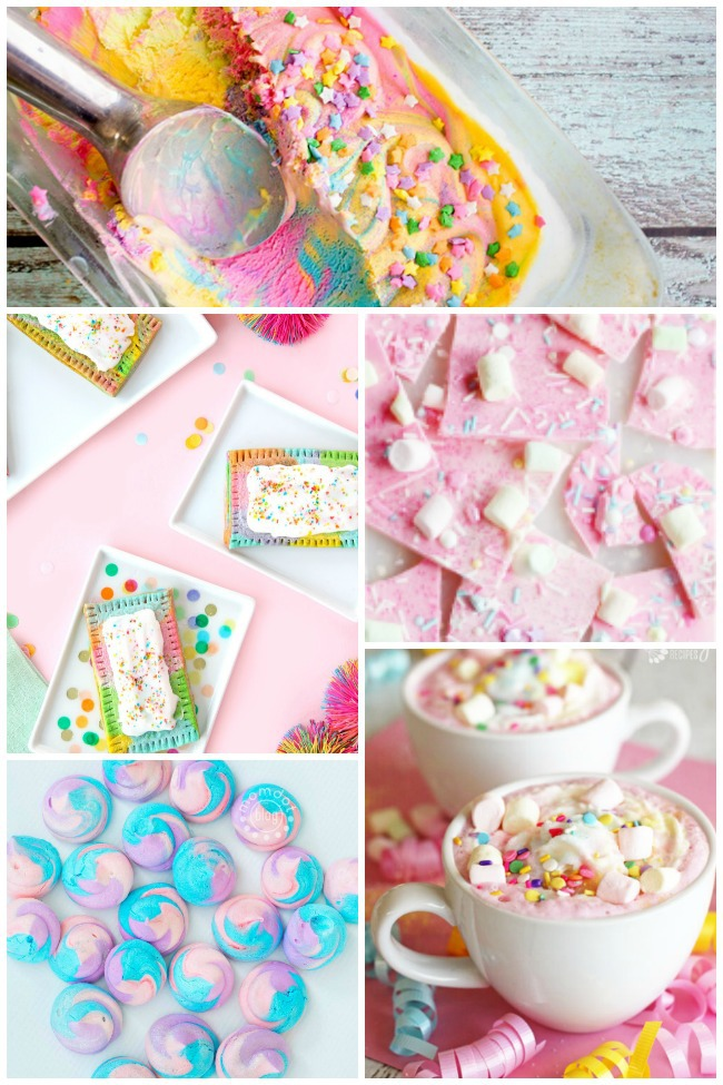 15 Unicorn Food Ideas {Almost} Too Cute To Eat