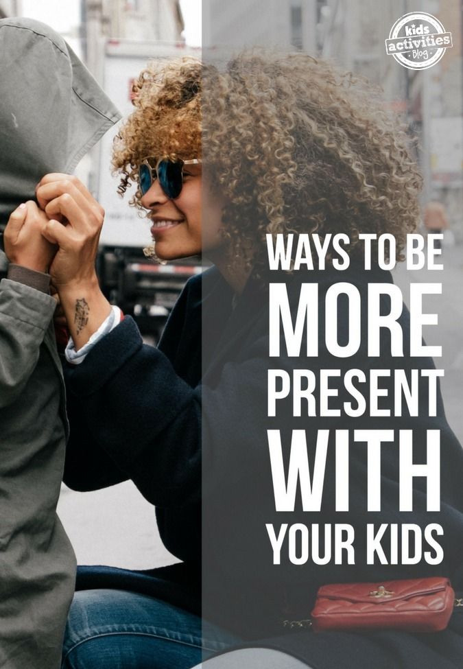 ways to be more present