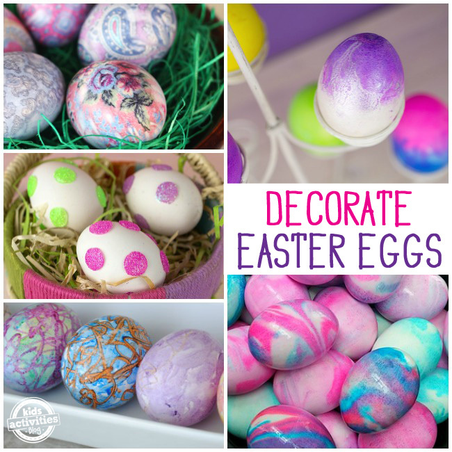 35 Ways to Decorate Easter Eggs