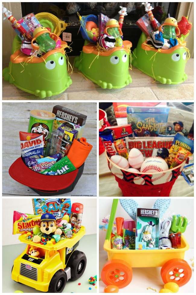 12 Simple & Creative Easter Basket Ideas for Kids