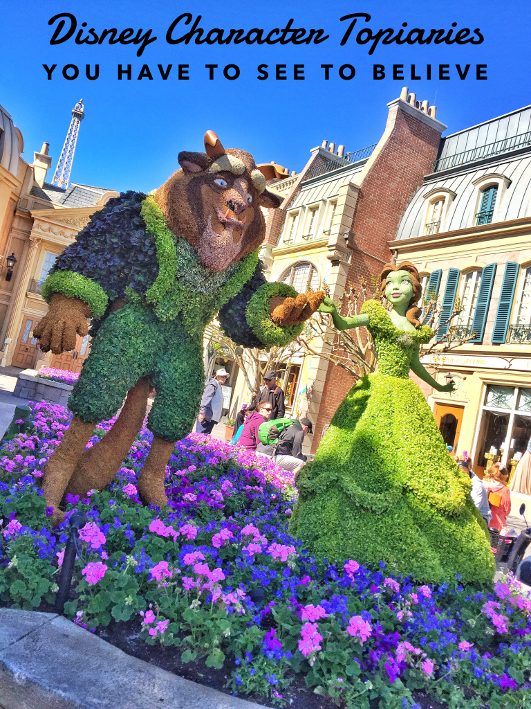 Disney Character Topiaries You Have to See to Believe