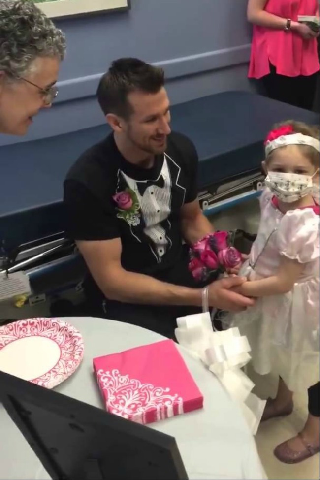 Four-Year-Old Cancer Patient Married Her Favorite Hospital Nurse