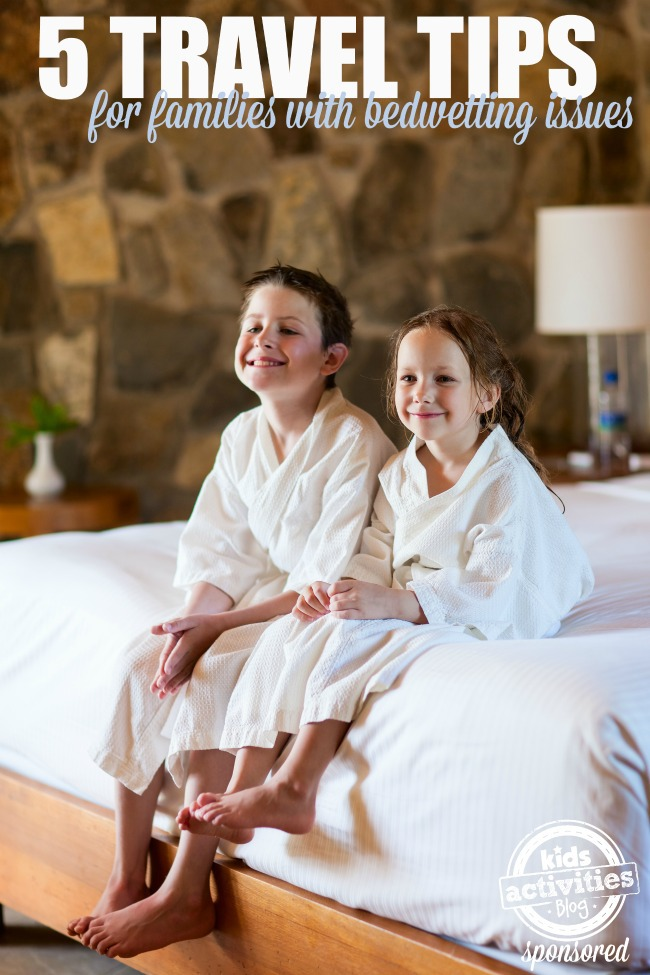 5 travel tips for families with bedwetting issues